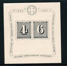 SWITZERLAND SOUVENIR SHEET SCOTT#B131  MICHEL#BL8  MINT NEVER HINGED