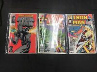 Iron Man 288 , 274 , 8  Comic Books Lot Of 3 Different Series & Cond 25 Annual