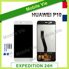 VITRE TACTILE + ECRAN LCD ORIGINAL PRET-A-MONTER POUR HUAWEI P10 BLANC + OUTILS