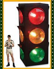 New Large Blinking 3-Sided Traffic Light Signal Lamp