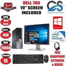 """Desktop PC Intel Pentium Dual-Core con dimensione dello schermo 19"""""""