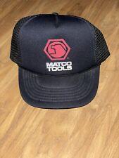 New listing EUC Matco Tools Hat Trucker Style Mesh Strapback Hat