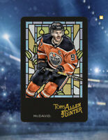 Topps Skate DIGITAL Allen & Ginter Stained Glass CONNOR MCDAVID 18cc SP