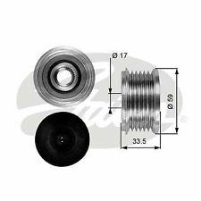 PEUGEOT 308 4B, SW Overrunning Alternator Pulley 1.6D 2.0D 07 to 14 Clutch Gates