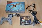 lot CONSOLE PS1 spéciale TOMB RAIDER III + le jeu + Manette officielle + cables