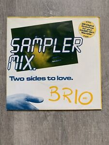 """Casio SK1 Sampler 7"""" Single BRIO 'Two Sides To Love' 1986 (29 Samples) Poster..."""