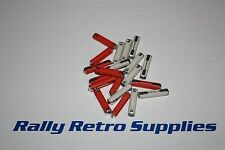 OLD STYLE BULLET CAR FUSES 16 & 8 AMP CERAMIC TYPE CLASSIC CAR CORTINA  ESCORT