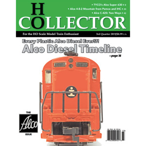 HO COLLECTOR: 3rd Qtr., 2019, 11th Edition - (BRAND NEW Magazine)