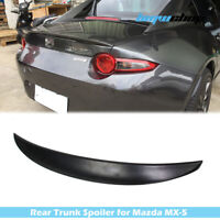 Painted Fit For Mazda MX5 MX-5 Miata Roadster ND P Style Rear Boot Spoiler Wing
