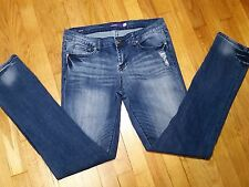 Vigoss Skiiny Jeans Size 9 Low Rise Medium Wash Excellent