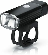 LED Bicycle Front Light Bike Handlebar Headlight USB Rechargeable Lamp 1000mAh