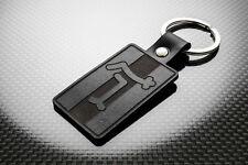 De Tomaso Leather Keyring Keychain Schlüsselring Porte-clés Mangusta Pantera V8