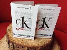CK EVERYONE Calvin Klein EDT UNISEX SPRAY SAMPLE SIZE 1.2 ml- 2 Samples