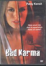 BAD KARMA - DVD (USATO OTTIMO) EDITORIALE