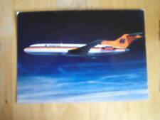 carte postale hapag-lloyd boeing-jet 727-200