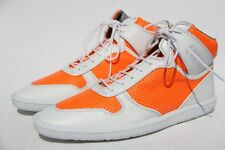 SCHMOOVE Men's Cup Mid Cut Orange / White High Top Sneakers Shoes US 11 / 44 NEW