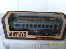 ERTL 1/43 SCALE  DIECAST LOCKING COIN BANK HERSEY'S TROLLEY CAR