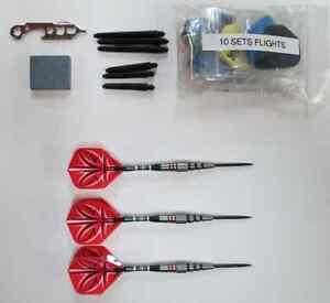 Bottelsen ABSTRACT-1 19g 90% Tungsten Steel Tip Dart Set darts flights shafts