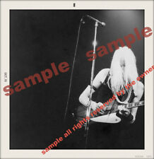 Johnny Winter And 1970 Dated Snapshot Rare Image New