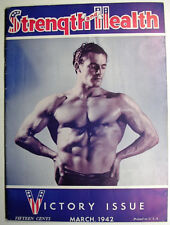 STRENGTH and HEALTH Magazine VICTORY ISSUE Mar1942 Bodybuilding