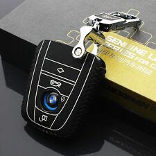 Genuine Leather Car Key Cover for BMW i3 i8 2014 2016 2017 Key Case Holder