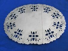 Vintage Leonard Silverplate Expandable Trivet - Italy - Floral Cutouts