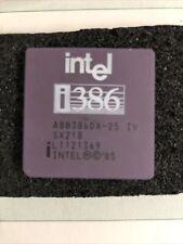 Intel i386 Processor Chip