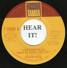 Marvin Gaye 45 (Tamla 54209) Inner City Blues (Wanna Holler)/ Wholy Holy  VG++