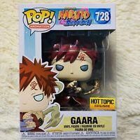 Funko Pop Animation : Naruto - Gaara (METALLIC) Hot Topic Exclusive