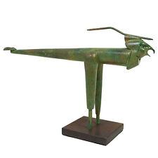 """PAUL WUNDERLICH - Originalskulptur """"KLEINER RAUBVOGEL"""" - Bestzustand/NEU"""