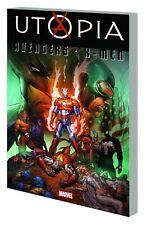 AVENGERS / X-MEN: UTOPIA TPB Marvel Dark Reign Comics TP 368 PAGES! NEW!