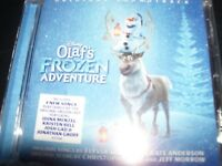 Olaf's Frozen Adventure – Walt Disney Ost Soundtrack (Australia) CD – New
