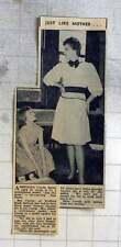 1960 10-year-old Carola Daish With Professional Model Mum Inga Trafford Road