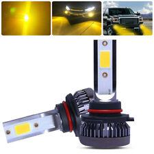 9006 HB4 LED Hedlight Low Beam Fog Light 8000K Golden Yellow 6000LM High Power X