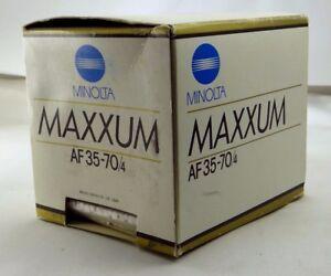 Empty Box for Minolta Maxxum AF 35-70mm f4.0 Lens