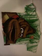 New ListingRare Donkey Kong Country All Over Print T-Shirt Vintage 90s Super Nintendo