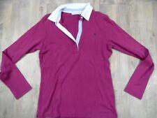 MARIE LUND Langarm-Poloshirt pink Gr. M TOP  e1017