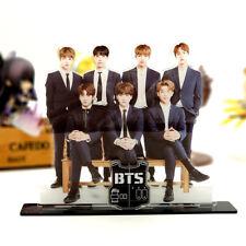 BTS Bangtan Boys formal wear group family acrylic stand figure Table decoration