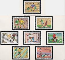 VIETNAM N°323/330** Football 1982, Vietnam #1180-1187 Soccer MNH