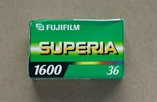 1 x ROLL OF FUJIFILM SUPERIA 1600 35mm COLOUR FILM 36 EXP EXPIRED LAST ONE!