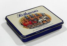 Vintage ROTHMANS CIGARETTE TIN BOX BY SPECIAL APPOINTMENT Made in England