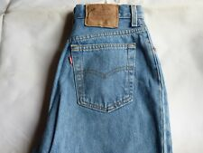 MENS PREOWNED LEVI JEANS 501(17501)  waist 30 length 32 BUTTON FLY