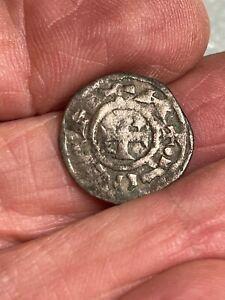 1400's Pirate Cob Coin Silver Billon Spanish Colonial Shipwreck Treasure Era #4E
