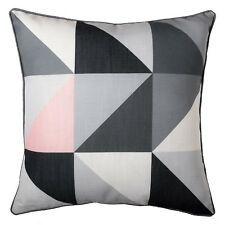Modern Geometric Dusty Pink Grey Cushion Scandi Sofa Pillow Case Cover 45cm 18in