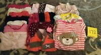 Girls Clothes 6 Month - Fall/Winter - Mixed Lot of 20 Pieces #172