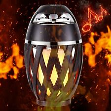 Flame Lamp Speaker Outdoor Bluetooth Speaker BT4.2 for iPhone/iPad/Android