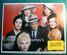 The Cheap Detective Lobby Card Set (8) Peter Falk Madeline Kahn Neil Simon 1978