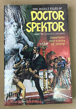 The Occult Files of Doctor Spektor Volume Two Dark Horse Hardcover *020417