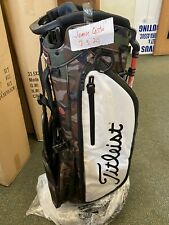 NEW Titleist Players 4 Plus Stand Bag-Camo/White-TB20SX1-WCM-Limited Ed. 2020