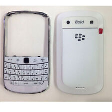 Rear Back Battery Cover/Keypad For Blackberry Bold 9900 White Full Housing